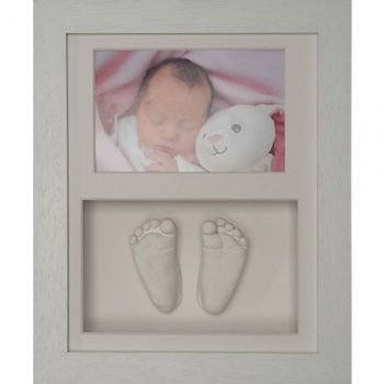 Classic 10x8'' Double White Frame